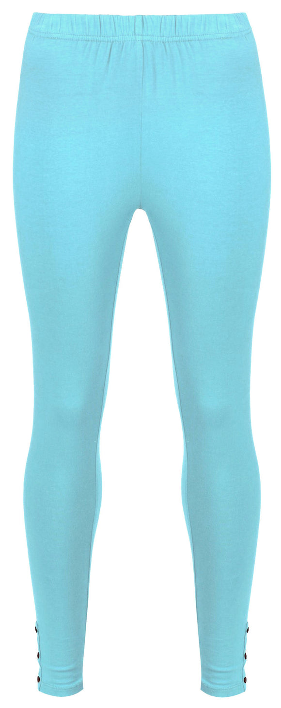 Mudd & Water Womens 'Lucky' Leggings - Air Blue