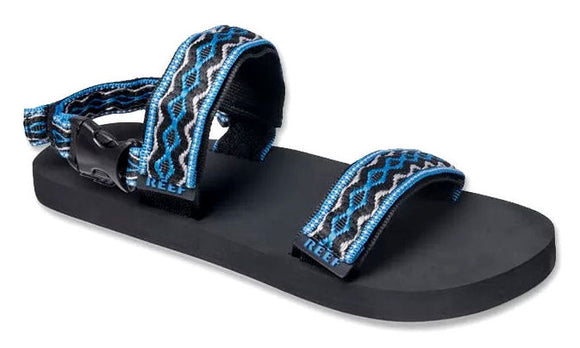 Reef Unisex 'Convertible' Strap Sandals - Black / Grey / Blue