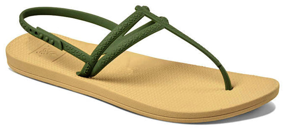Reef Womens 'Escape Lux T' Sandals - Olive