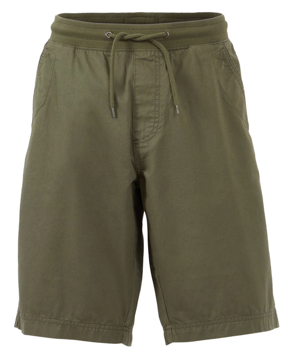Weird Fish Mens 'Murrisk' Relaxed Casual Shorts - Dark Olive