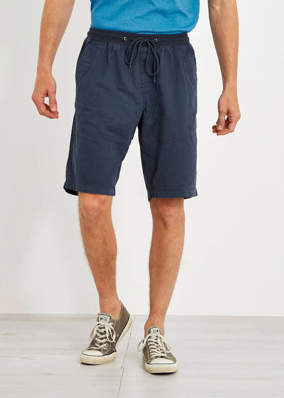 Weird Fish Mens 'Murrisk' Relaxed Casual Shorts - Dark Navy