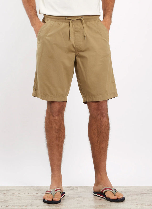 Weird Fish Mens 'Murrisk' Relaxed Casual Shorts - Taupe Grey