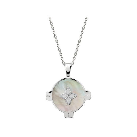 Harmony Necklace Mother of Pearl Sterling Silver