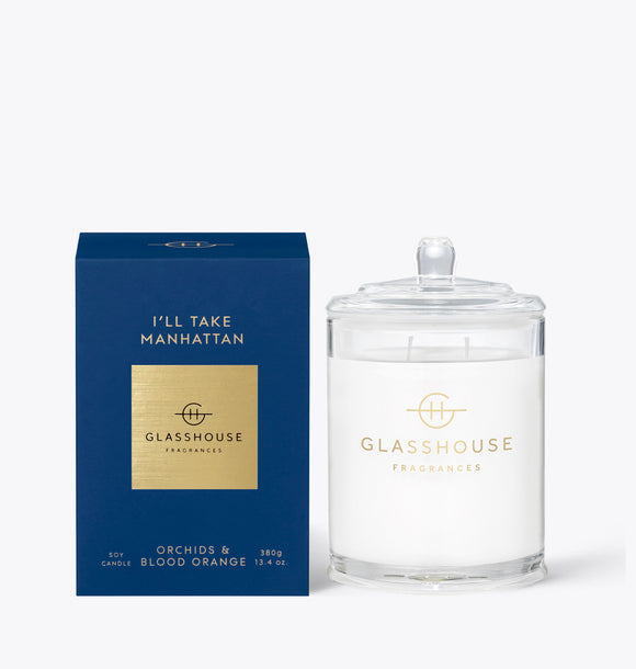 380g I'll Take Manhattan Candle