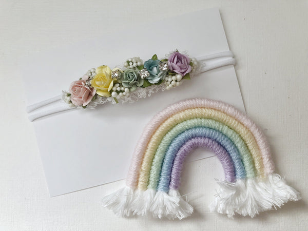 Mini Rainbow and Headband Set