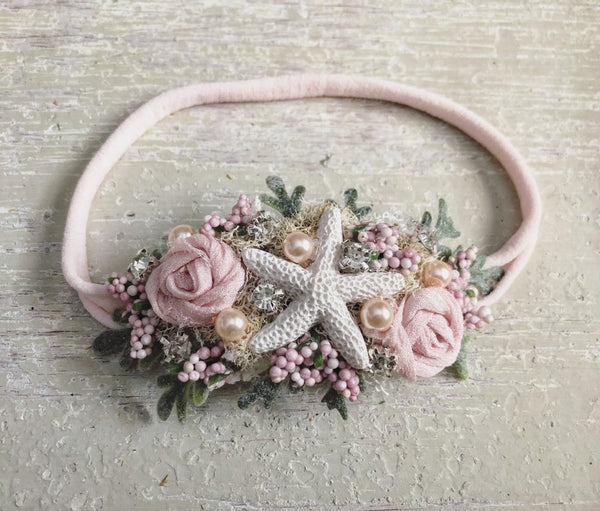 Pink Mermaid Headband