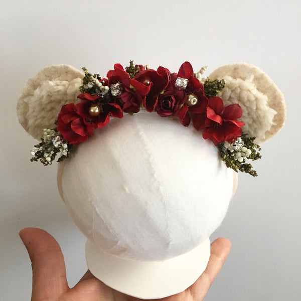 Holiday Teddy Headband