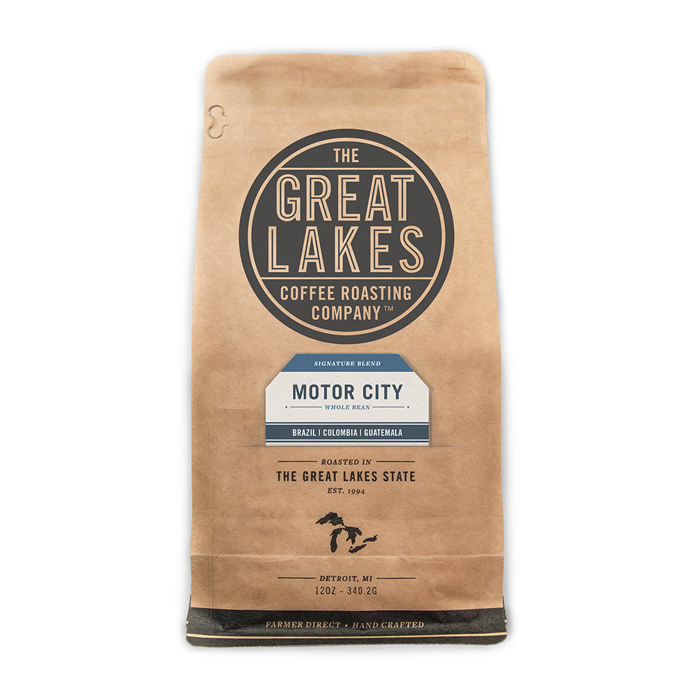 Load image into Gallery viewer, Motor City Whole Bean Signature Blend, 12oz