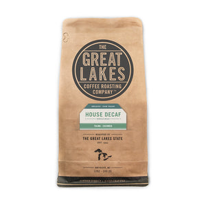 Organic Decaf Whole Bean, 12 oz