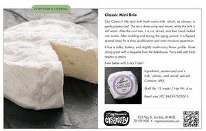 Load image into Gallery viewer, Classic Mini Brie, 4 oz