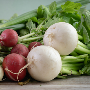 Organic Red and White Turnip Medley, 2 lbs