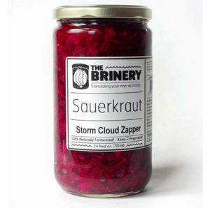 'Storm Cloud Zapper' Sauerkraut, 24 oz