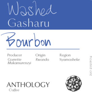 Washed Bourbon Gashara Whole Bean Coffee, 10.5oz