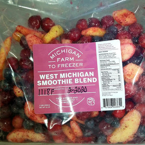 Frozen West Michigan Smoothie Blend, 2 lbs