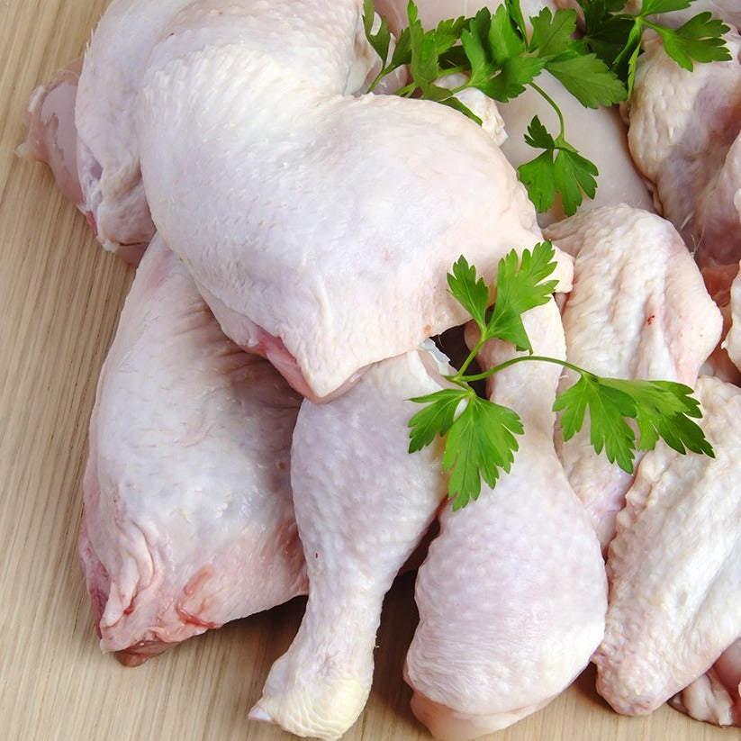 Load image into Gallery viewer, Fresh Cut Whole Chicken, 8 Pieces, approx 3.5lbs