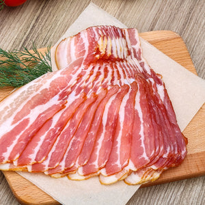 Frozen Sliced Bacon, 1 lb