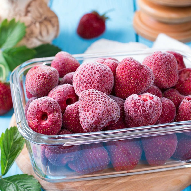 Load image into Gallery viewer, Frozen Strawberries, 2 lbs