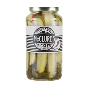 Spicy Dill Pickle Spears, 32oz