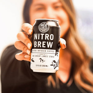 Load image into Gallery viewer, Nitro Cold Brew Can, 12 oz