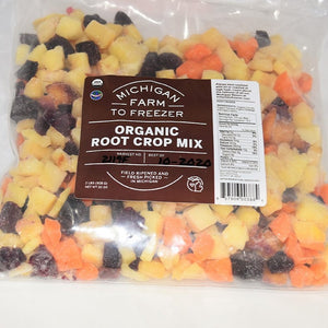 Frozen Organic Root Crop Mix, 2lbs