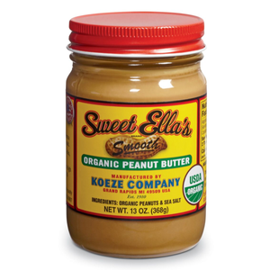 Sweet Ella's Smooth Organic Peanut Butter