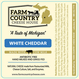 White Cheddar, 8 oz