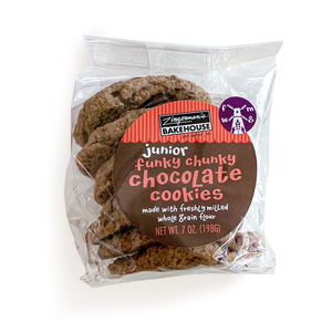 Funky Chunky Jr. Chocolate Chip Cookie, 6 pack