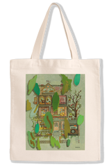 40th Anniversary Limited-Edition Tote Bag by Artist Laura Owens