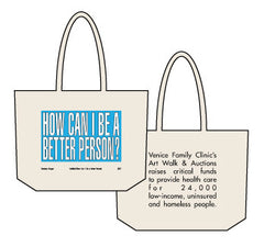 2017 Limited Edition Barbara Kruger Canvas Tote
