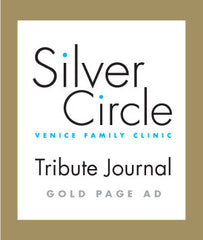 Silver Circle Tribute Journal Gold Page Ad