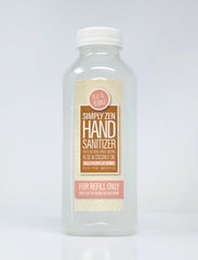 Simply Zen Hand Sanitizer 16 oz. Refill