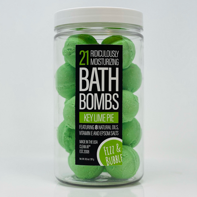 Fizz & Bubble Key Lime Pie Mini Bath Bombs