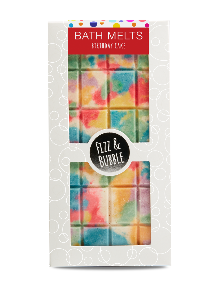 Birthday Cake Candy Bar Bath Melt from Fizz & Bubble