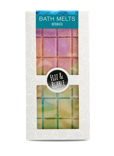 Mermaid Candy Bar Bath Melt from Fizz & Bubble