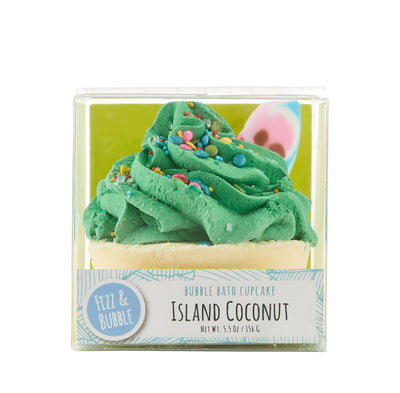 Island Coconut Bubble Bath Cupcake from Fizz & Bubble