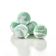 Spearmint Eucalyptus Bubbling Bath Fizzies from Fizz & Bubble
