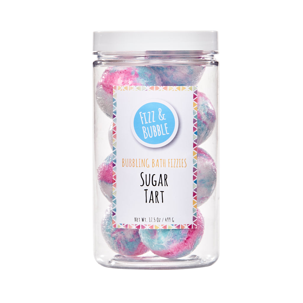 Sugar Tart Bubbling Bath Fizzies from Fizz & Bubble