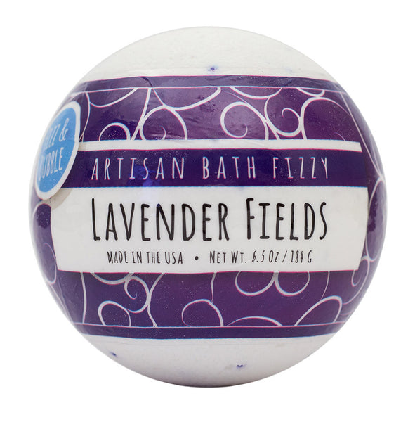 Lavender Fields Bath Fizzy from Fizz & Bubble