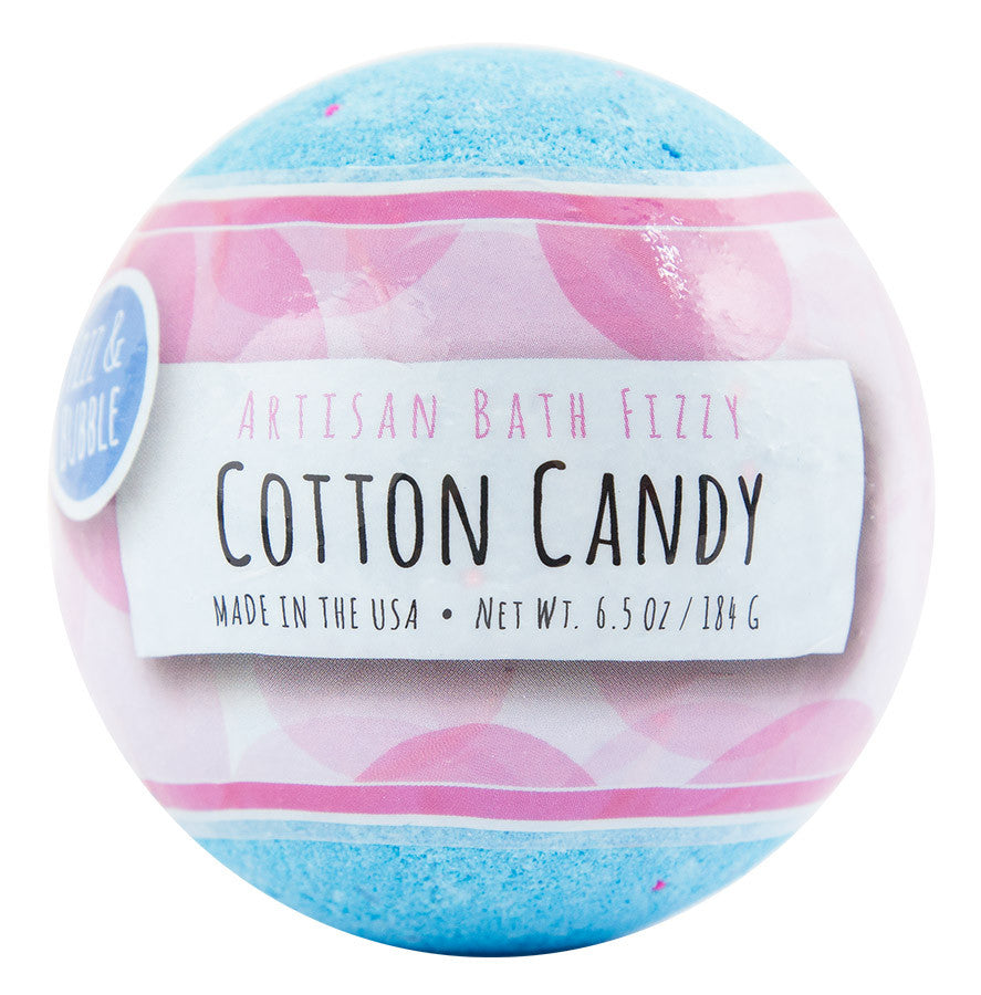 Cotton Candy Bath Fizzy from Fizz & Bubble