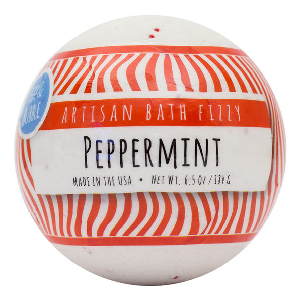 Peppermint Bath Fizzy from Fizz & Bubble