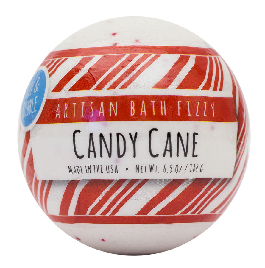 Candy Cane Bath Fizzy from Fizz & Bubble