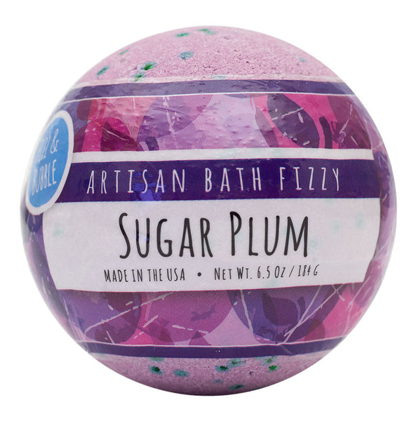 Sugar Plum Bath Fizzy from Fizz & Bubble