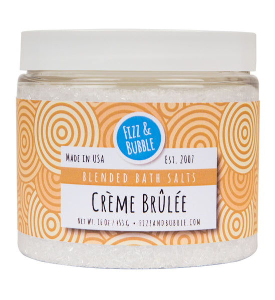 Crème Brûlée Bath Salts from Fizz & Bubble