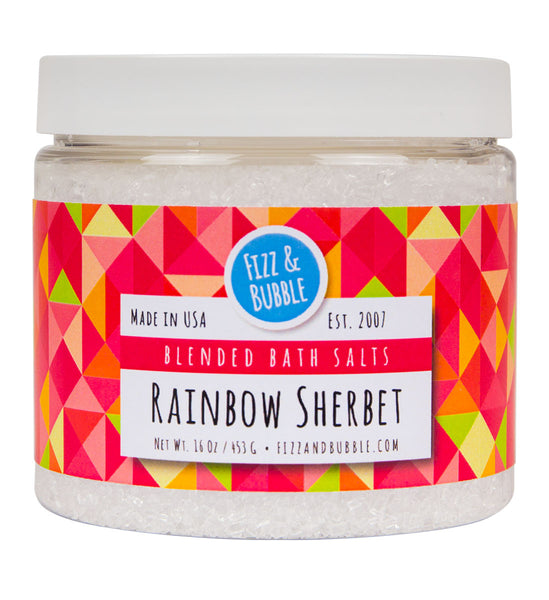Rainbow Sherbet Bath Salts