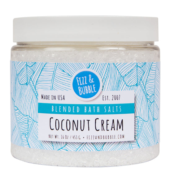 Coconut Cream Bath Salts from Fizz & Bubble