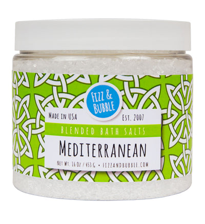 Mediterranean Bath Salts from Fizz & Bubble
