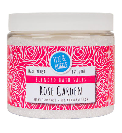 Rose Garden Bath Salts from Fizz & Bubble