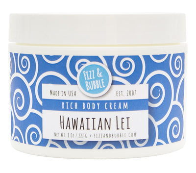 Hawaiian Lei Body Cream from Fizz & Bubble