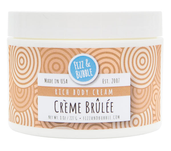 Crème Brûlée Body Cream from Fizz & Bubble