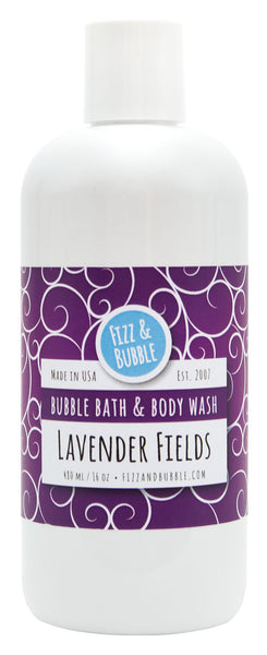 Lavender Fields Bubble Bath & Body Wash